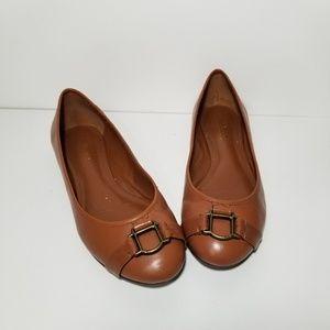 Lauren Ralph Lauren leather loafer flats sz 8